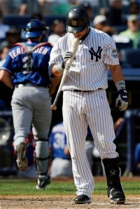 Rangers Yankees Baseball