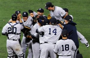 ALDS Yankees Twins Baseball